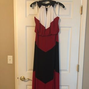 Long dress. Worn once.